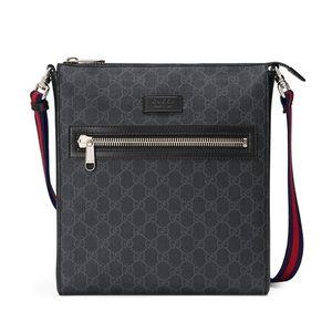 Gucci Supreme GG Travel Crossbody Unisex Bag